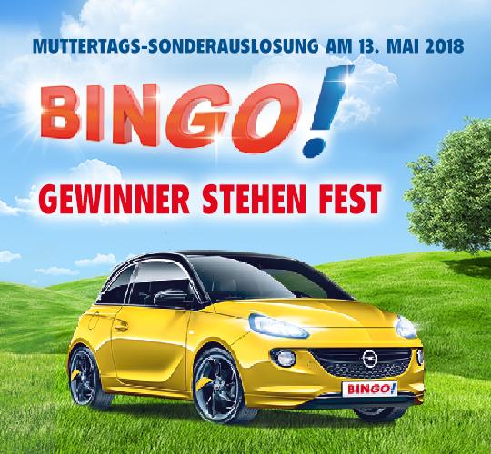 Bingo Lotto Sonderauslosung