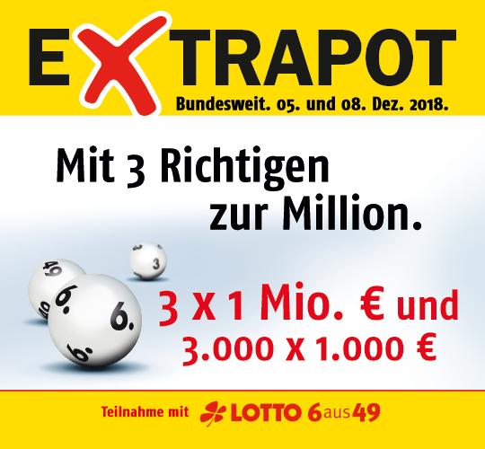 Lotto Nikolaus Sonderauslosung