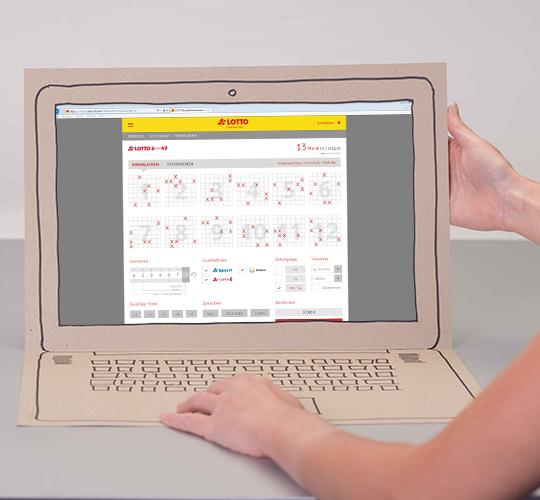 Lottoschein online ausfüllen, ganz einfach und schnell