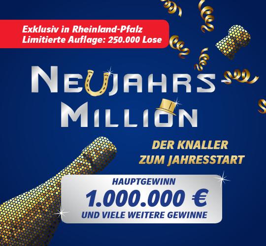 Neujahrs Million Gewinne